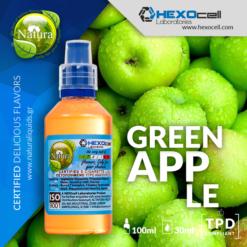 Natura Green Apple 30-100ml (Mix & Shake)
