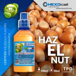 Natura Hazelnut 30-100ml (Mix & Shake)