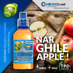 Natura Narghile Apple 30-100ml (Mix & Shake)