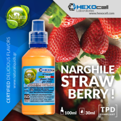 Natura Narghile Strawberry 30-100ml (Mix & Shake)