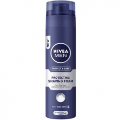Nivea Protect & Care Αφρός Ξυρίσματος 250ml