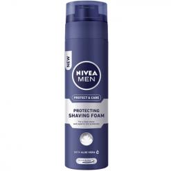 Nivea Protect & Care Αφρός Ξυρίσματος 200ml