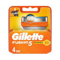 Gillette Fusion 5 Power Ξυραφάκια 4 Τμχ
