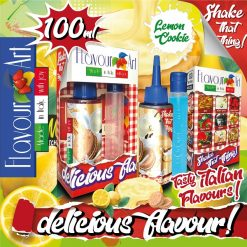 Flavour Art Cookie Lemon 100ml (Mix & Shake)