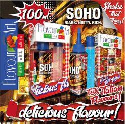 Flavour Art Soho 100ml (Mix & Shake)