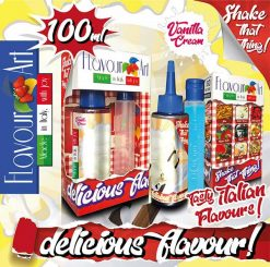 Flavour Art Vanilla Cream 100ml (Mix & Shake)