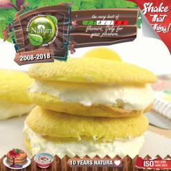 Natura Lemon Biscotto 100ml (Mix & Shake)