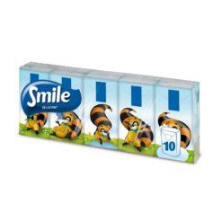 Smile Χαρτομάντηλα 10 Τμχ
