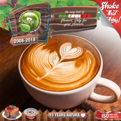 Natura Coffee Latte 100ml (Mix & Shake)
