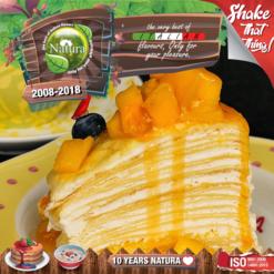 Natura Mango Crepe 100ml (Mix & Shake)
