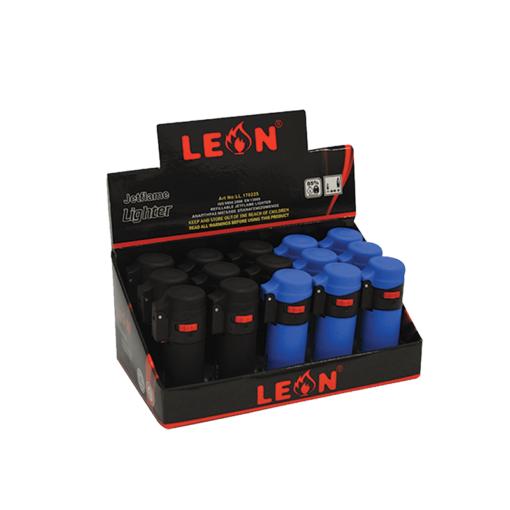 Leon Barrel Blue & Black Αναπτήρας