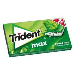 Trident Max Δυόσμος Τσίχλα 23gr