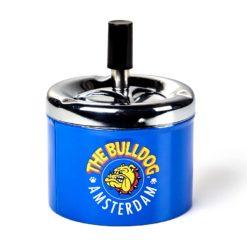Σταχτοδοχείο Περιστρεφόμενο The Bulldog Μπλε (Τεμάχιο)