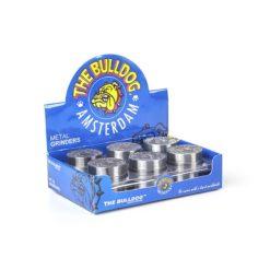 Τρίφτης Καπνού Μεταλλικός 40mm 2 Θέσεων The Bulldog (Συσκευασία)