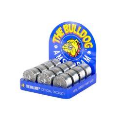 Τρίφτης Καπνού Μεταλλικός 40mm 3 Θέσεων The Bulldog (Συσκευασία)