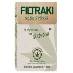 Filtraki Zero Stress Slim 6mm 60 Φιλτράκια (Τεμάχιο)