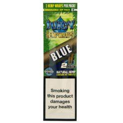 Juicy Hemp Wraps Blue 2 Τμχ (Τεμάχιο)