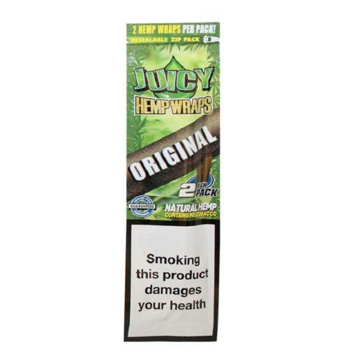 Juicy Hemp Wraps Original 2 Τμχ Πουρόφυλλα (Τεμάχιο)