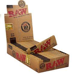 Raw Classic 1.1/4 Χαρτάκια (Συσκευασία)