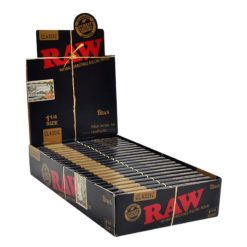 Raw Classic Black 1.1/4 Χαρτάκια (Συσκευασία)