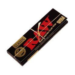 Raw Classic Black Χαρτάκια 60 Φύλλα (Τεμάχιο)