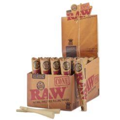 Raw Classic King Size Κώνος (Συσκευασία)