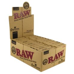 Raw Classic King Size Slim + Pre-rolled Tips Χαρτάκια (Συσκευασία)