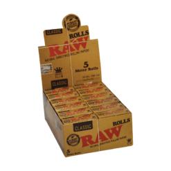 Raw Classic King Size Slim Ρολό (Συσκευασία)