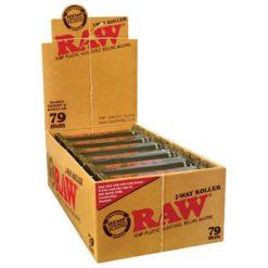 Raw Πλαστική Μηχανή Στριφτού 79mm (Συσκευασία)