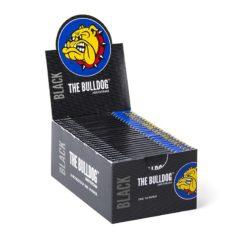 The Bulldog Μαύρα 1.1/4 Χαρτάκια (Συσκευασία)