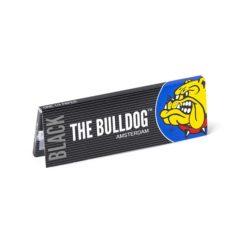 The Bulldog Μαύρα 1.1/4 Χαρτάκια (Τεμάχιο)