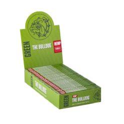 The Bulldog Πράσινα 1.1/4 Χαρτάκια (Συσκευασία)