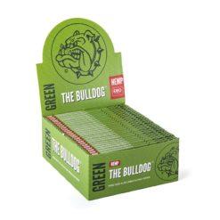 The Bulldog Πράσινα Hemp King Size Slim Χαρτάκια (Συσκευασία)