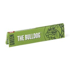 The Bulldog Πράσινα Hemp King Size Slim Χαρτάκια (Τεμάχιο)