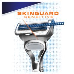 Gillette Skinguard Ξυριστική Μηχανή & 2 Ανταλλακτικά