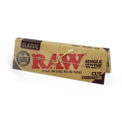 Raw Classic Με Κομμένες Γωνίες Χαρτάκια (Τεμάχιο)