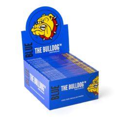 The Bulldog Μπλε King Size Slim Χαρτάκια 33 Φύλλα (Συσκευασία 50 Τεμαχίων)