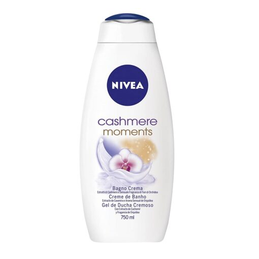 Nivea Cashmere Moments Αφρόλουτρο 750ml