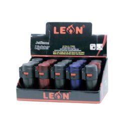Leon Barrel Transparent Αναπτήρας (Συσκευασία 15 Τεμαχίων)